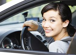 Женщина за рулем – это не опасно!