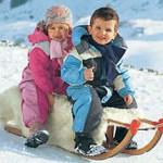 Дети зимой: отморожения