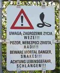 Австрийцы пугают любителей «облегчиться в кустах»