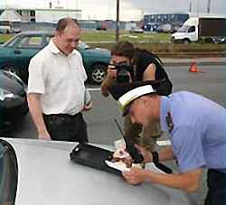 Ищем виновника после аварии