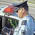 Полицейский оштрафовал сам себя