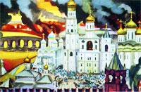 Москву стали величать белокаменной