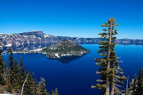 Озеро Крейтер в штате Орегон
