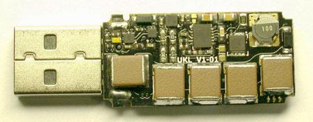 Смонтирован USB killer