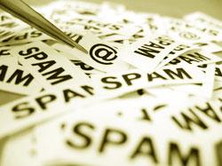 Мой рабочий адрес электронной почты попал в руки спамеру